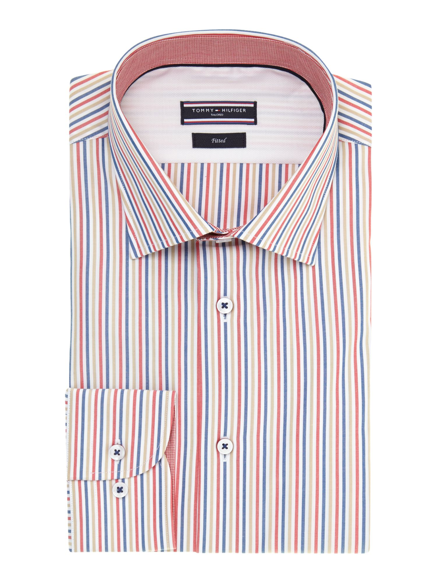 Jonny multi stripe regular fit shirt