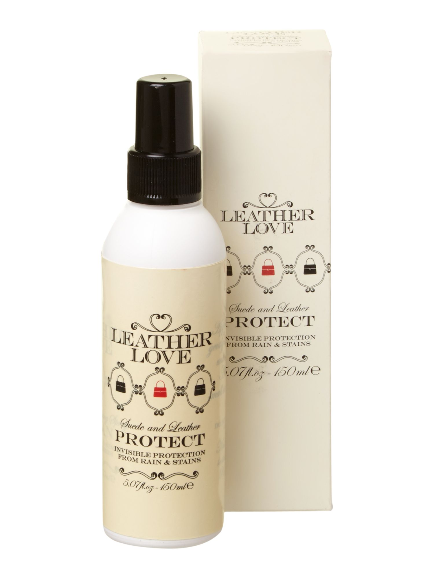 Leather Love Leather Love Suede and leather protection spray, White