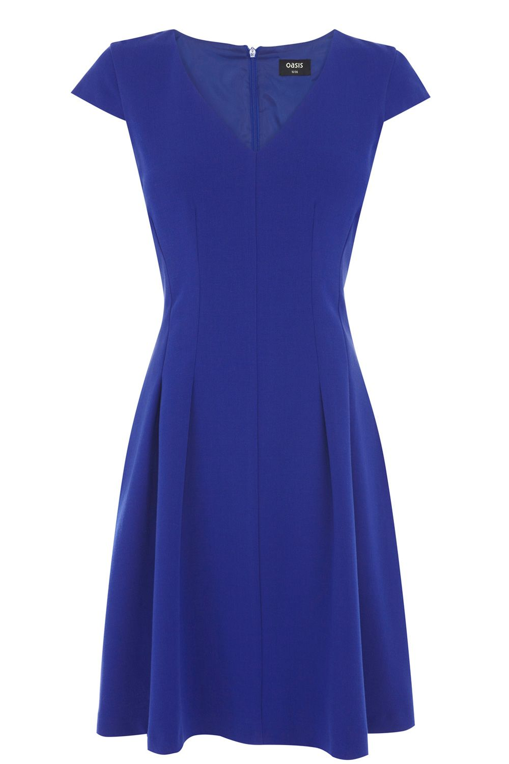 Seamed Skater Dress