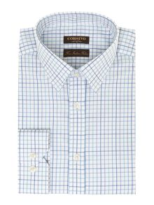 Lugano twill check shirt