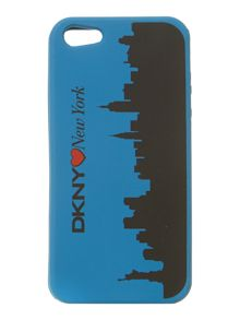 Blue iPhone 5 phone case