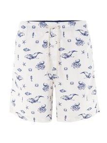 Nautical swim short