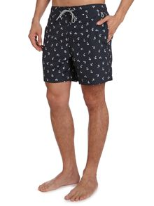 Linea Palm Tree Print Swim Short