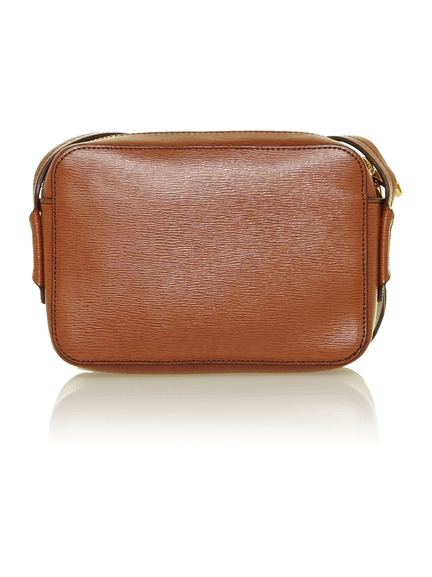 Tate tan mini crossbody bag