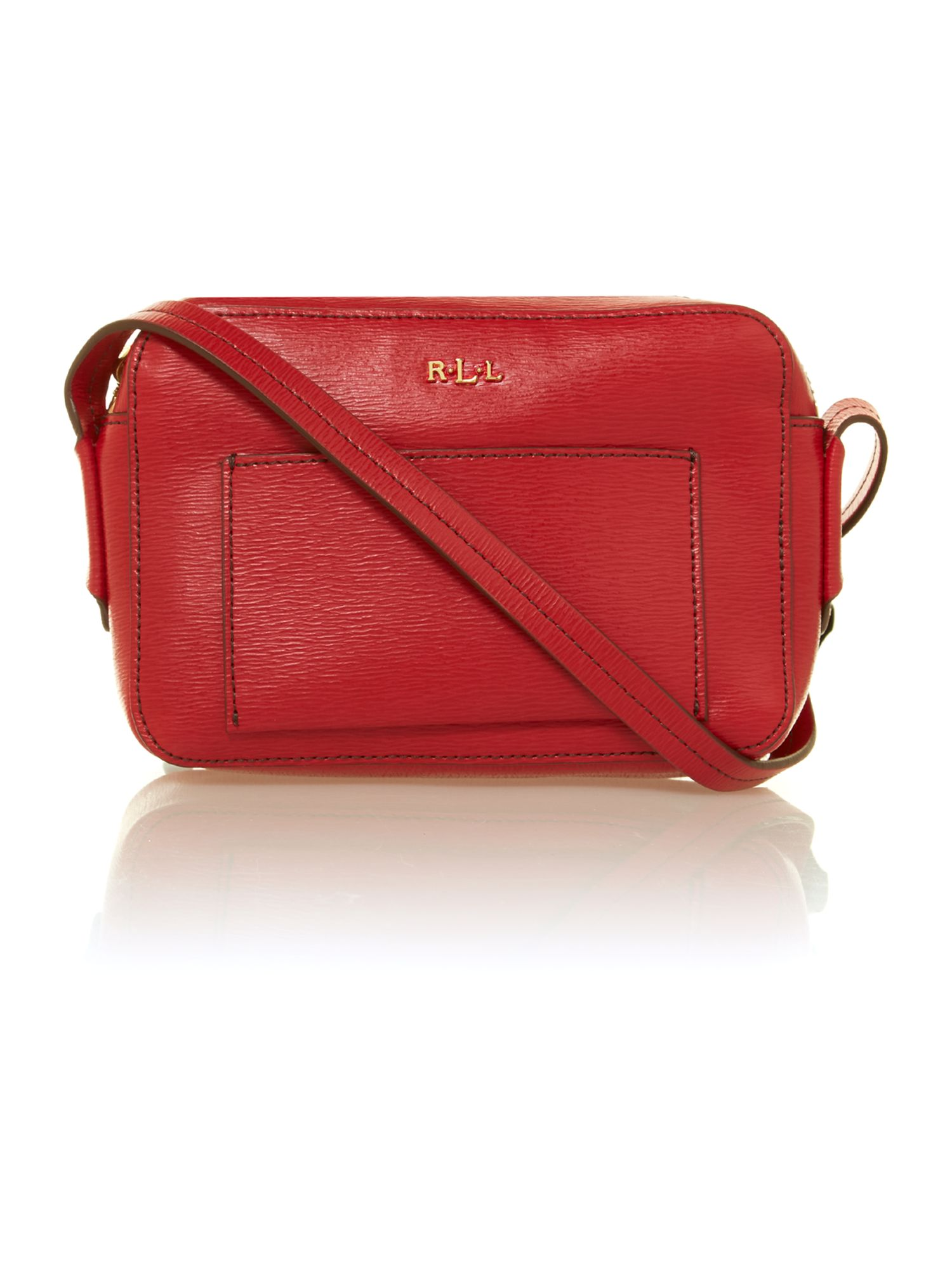 Tate red mini crossbody bag