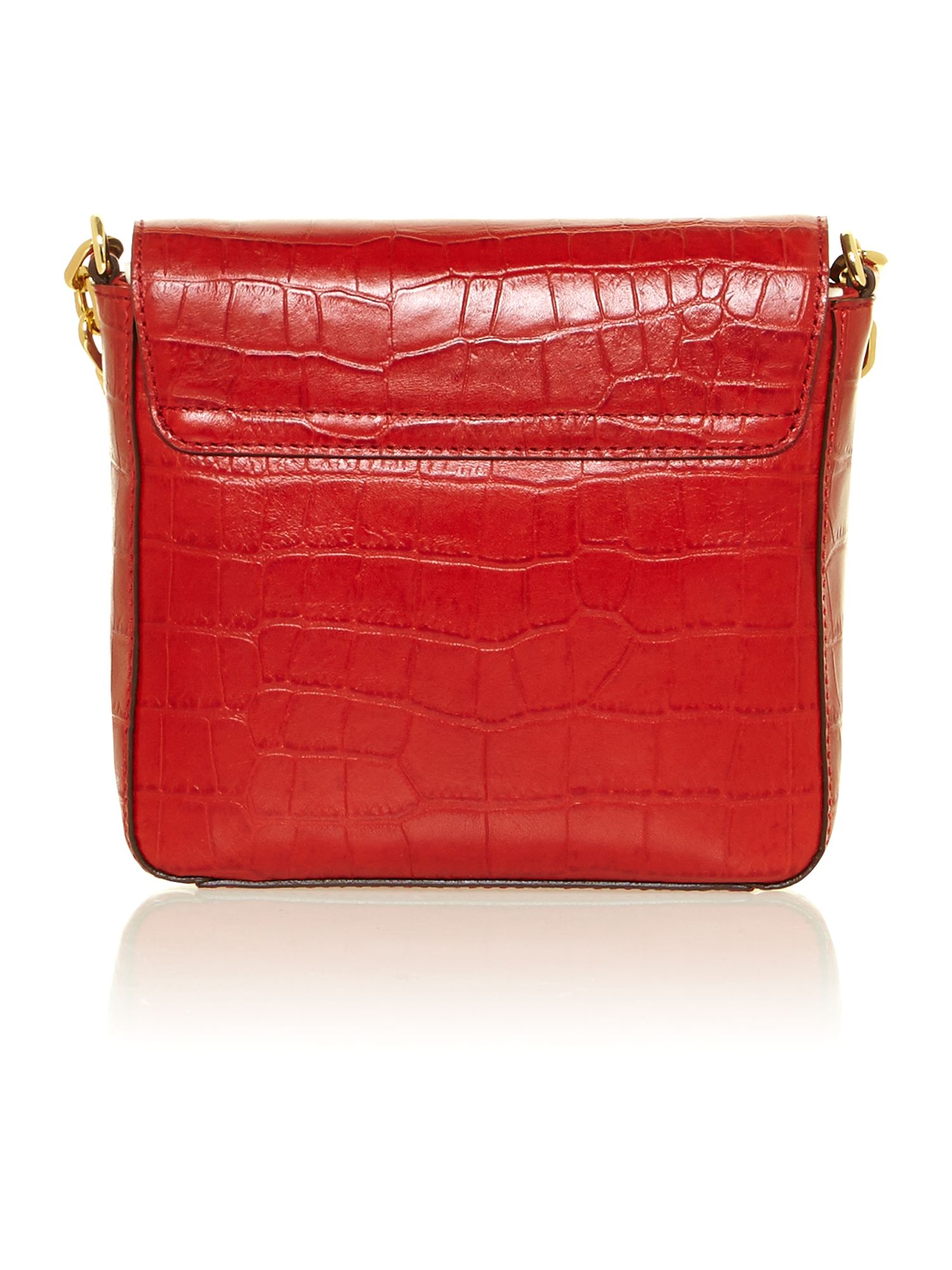 Lanesborough red small crossbrody bag