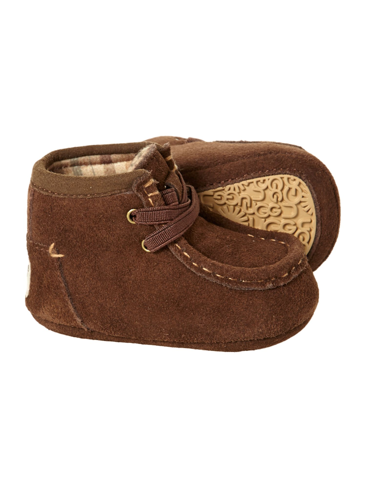 Baby`s lace up moccasin