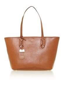 Tate tan tote bag