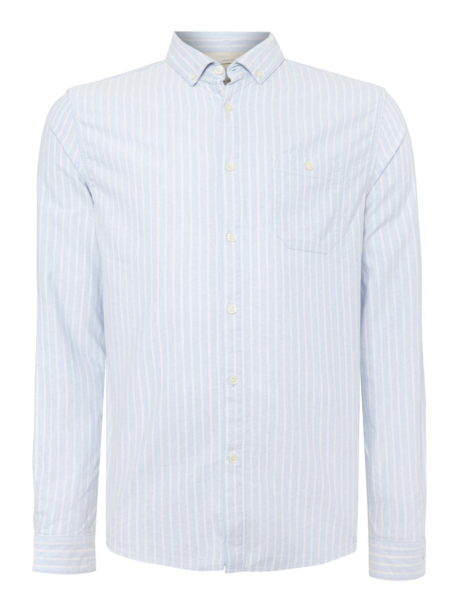 alexander pastel striped long sleeve shirt
