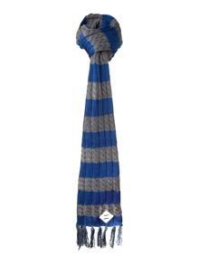 Stripe warren scarf