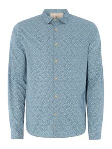 William floral long sleeved shirt