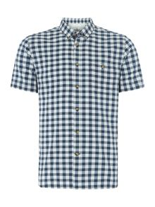 Victor check short sleeved shirt