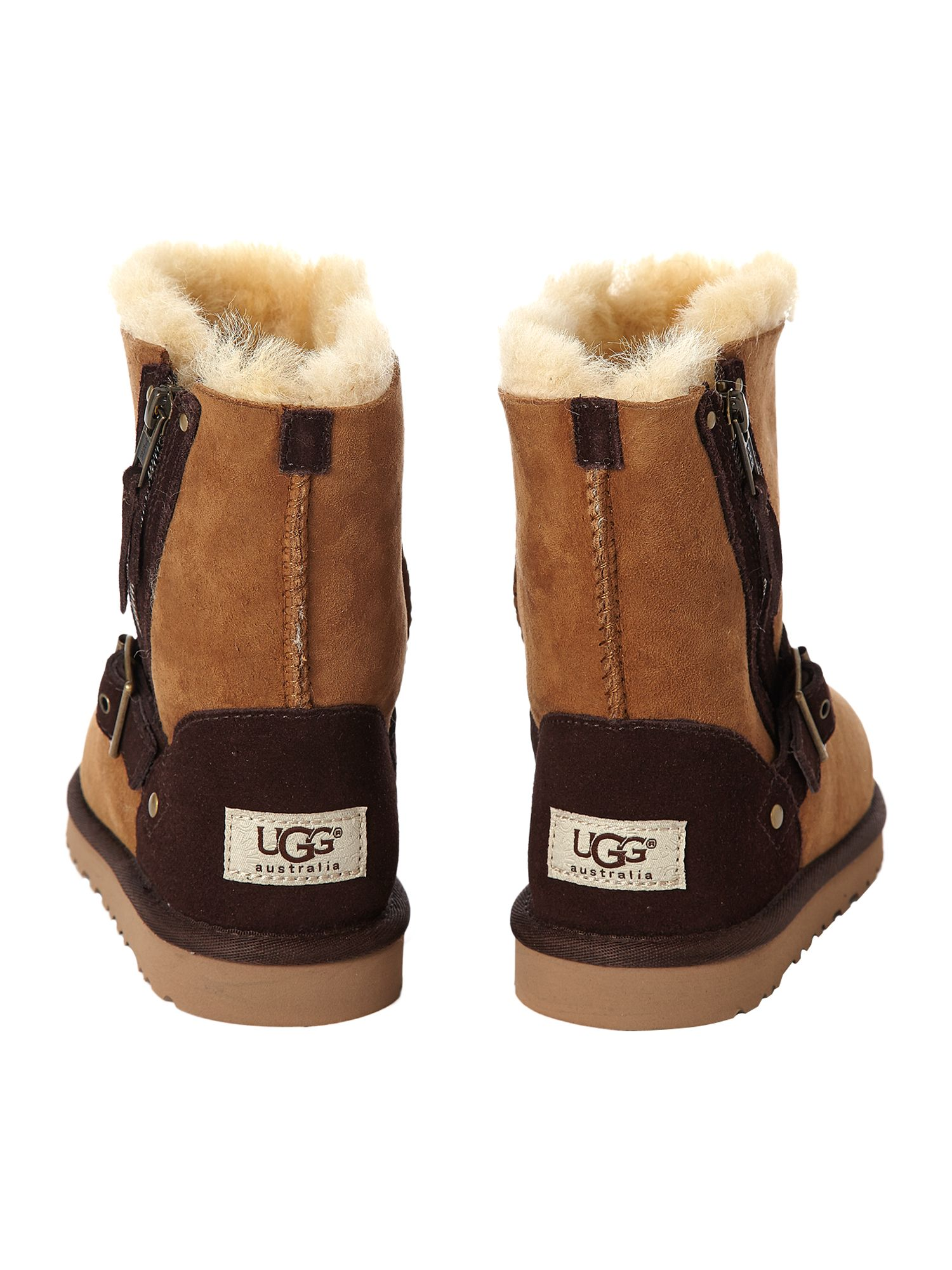 Kid`s side zip boot