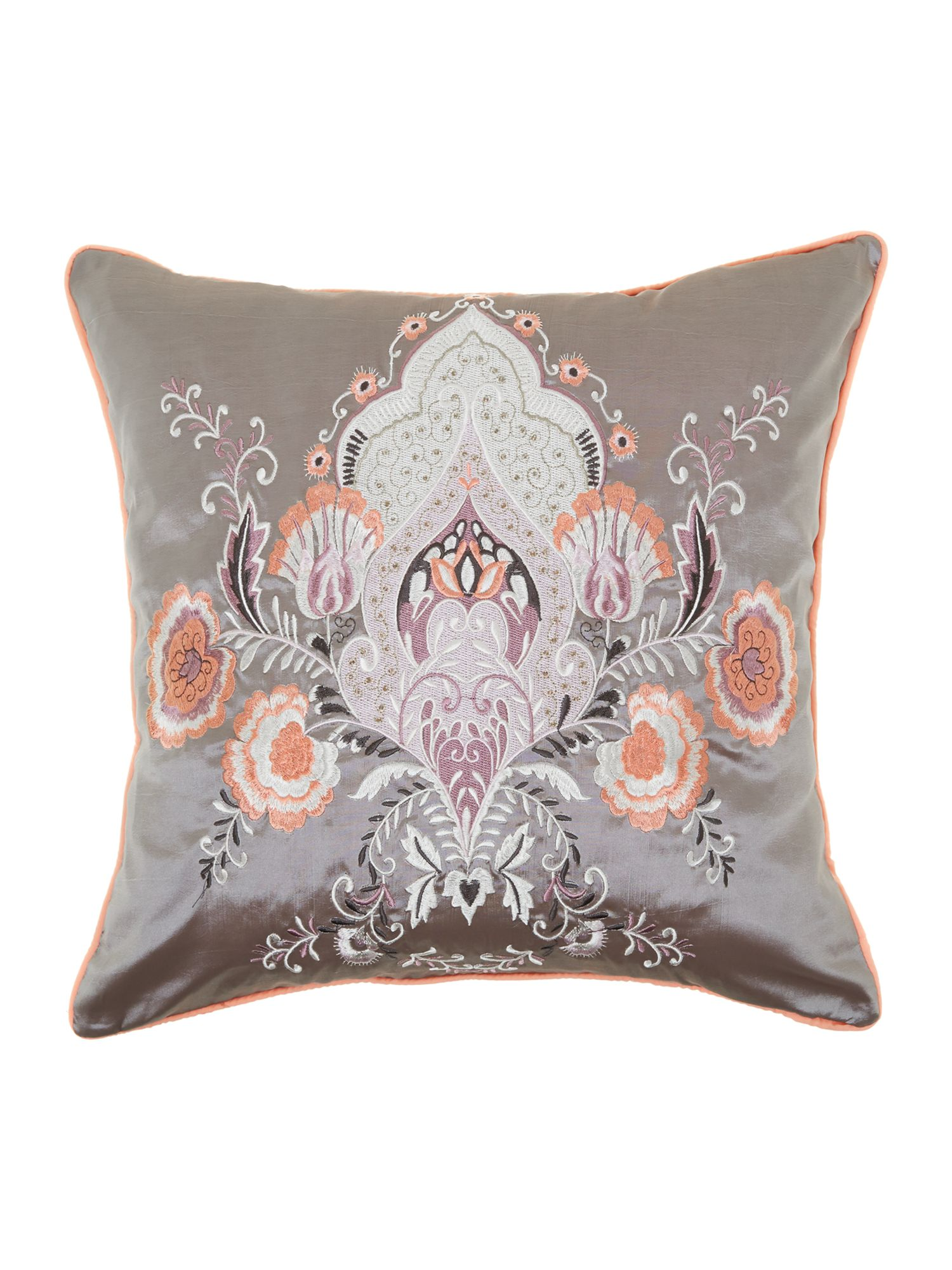 Jaipur embroidered cushion