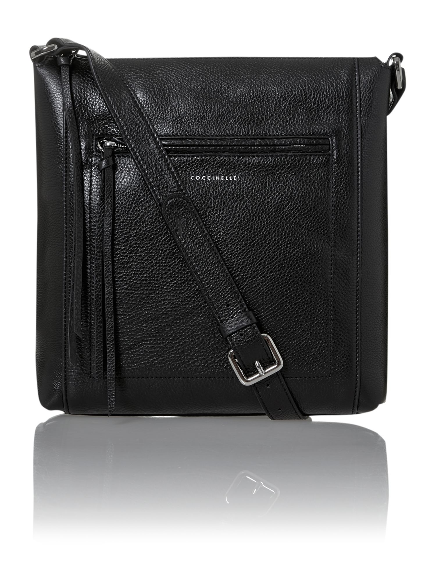Alexa black crossbody bag