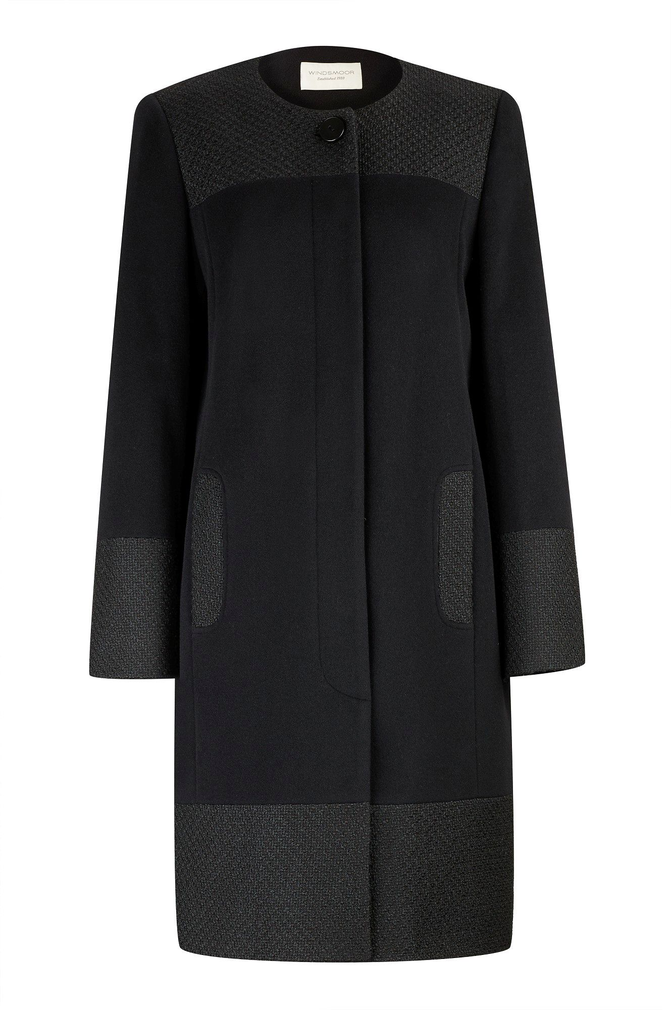Mid-length Textured Trim Coat