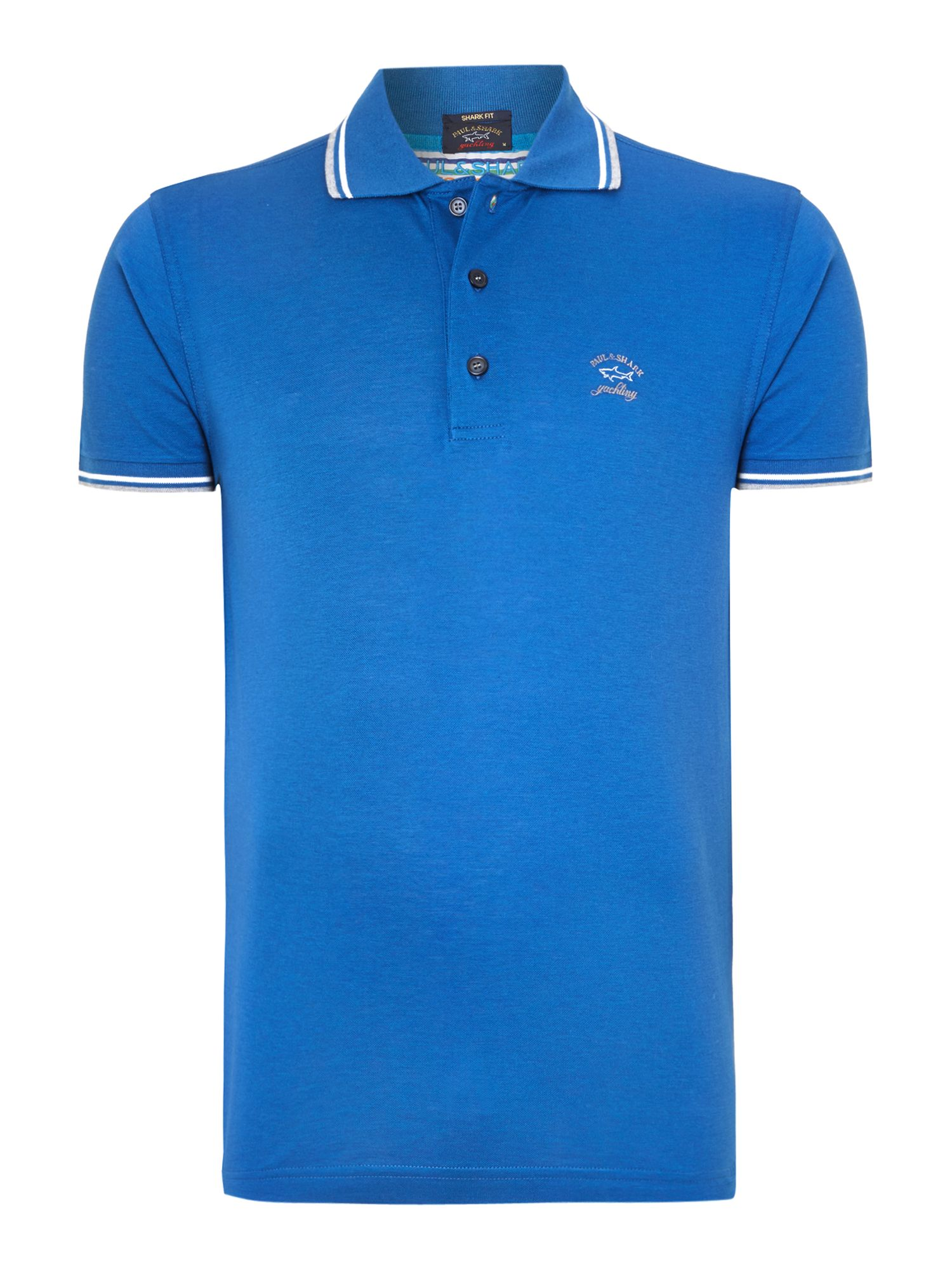 Twin tipped pique polo