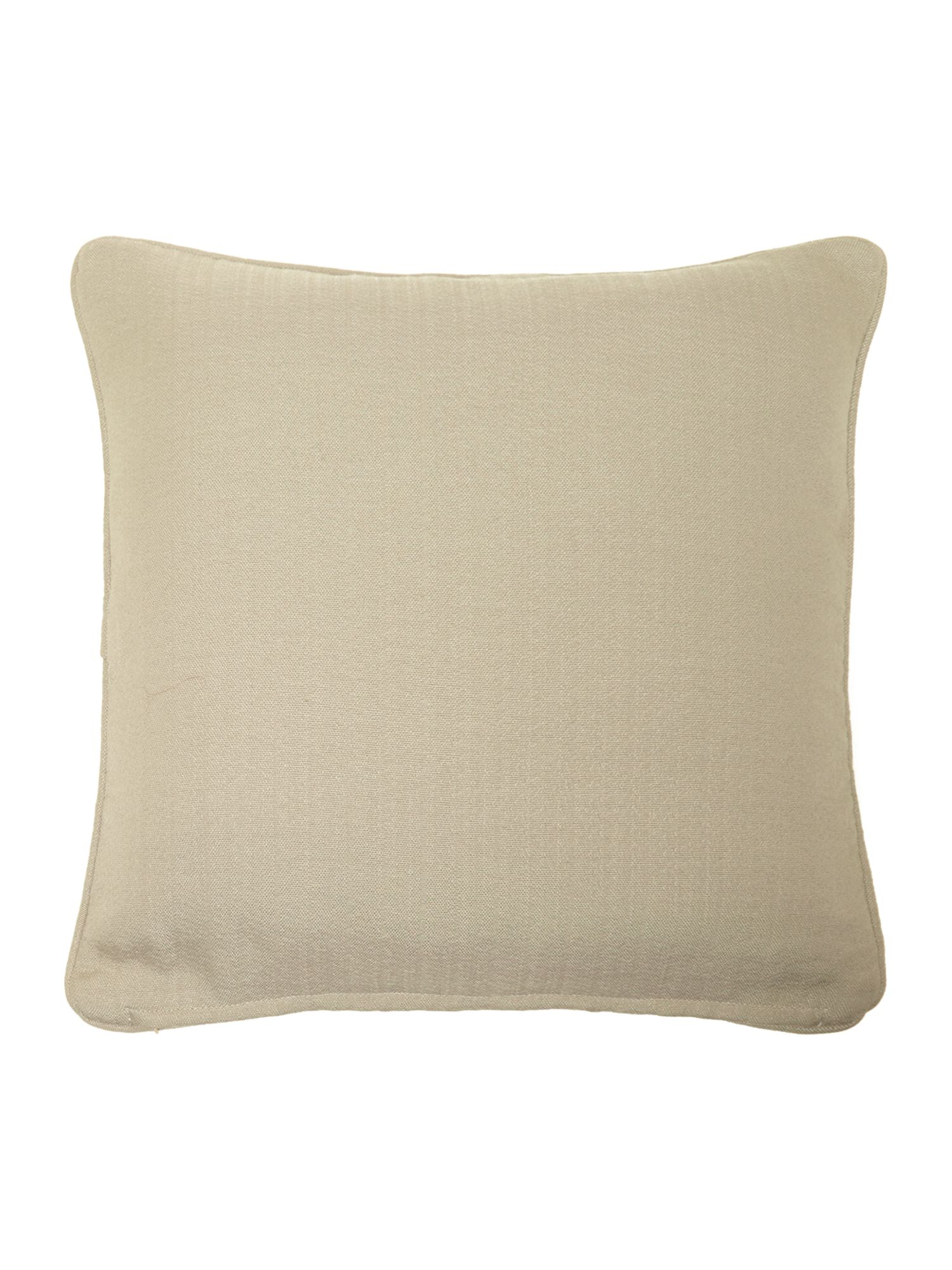 Duck egg leaf chenille cushion