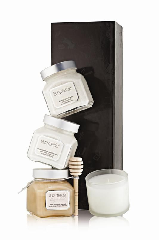 Body & Bath Luxe Quartet Almond Coconut Milk
