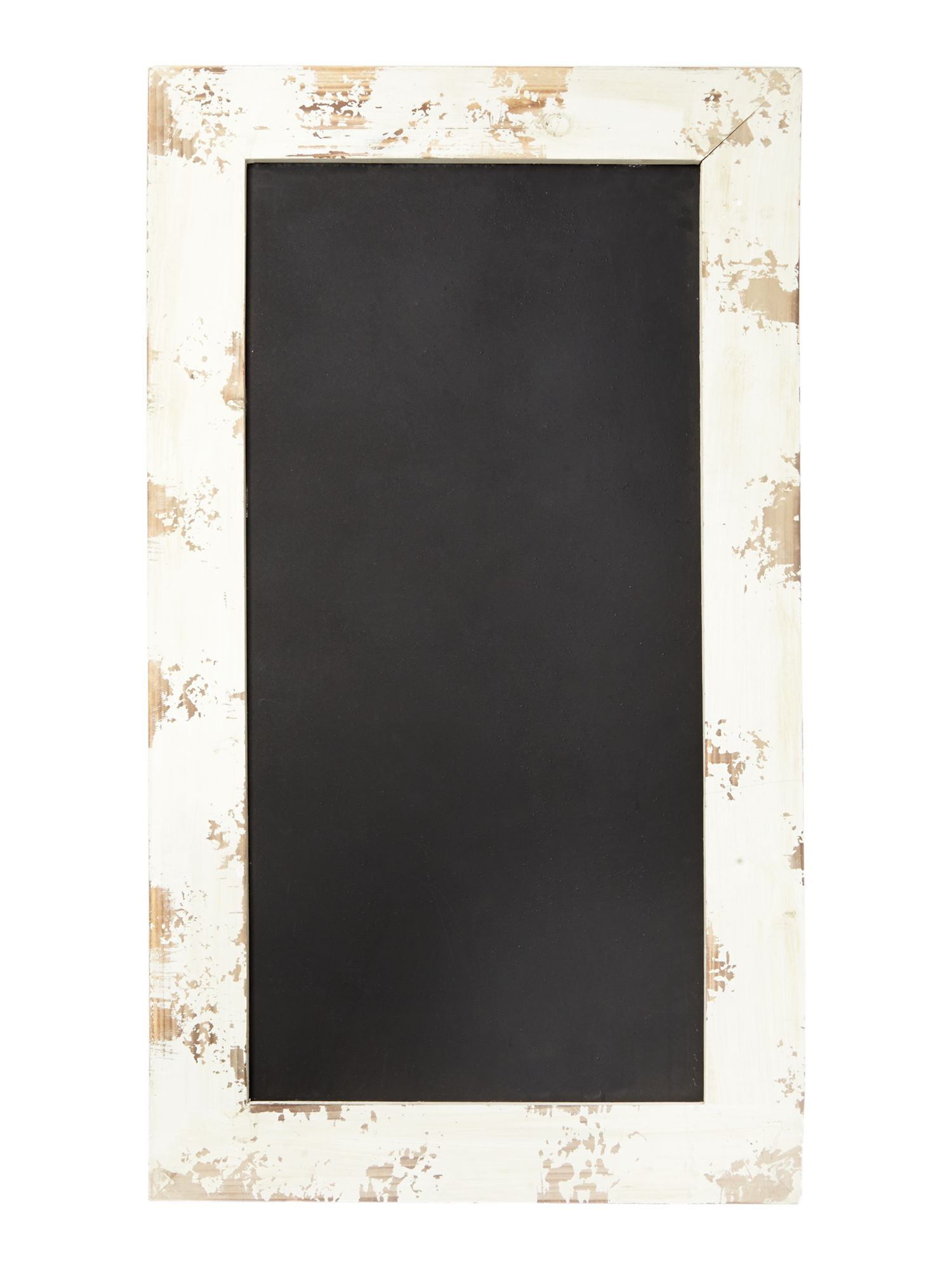 Distressed chalk board