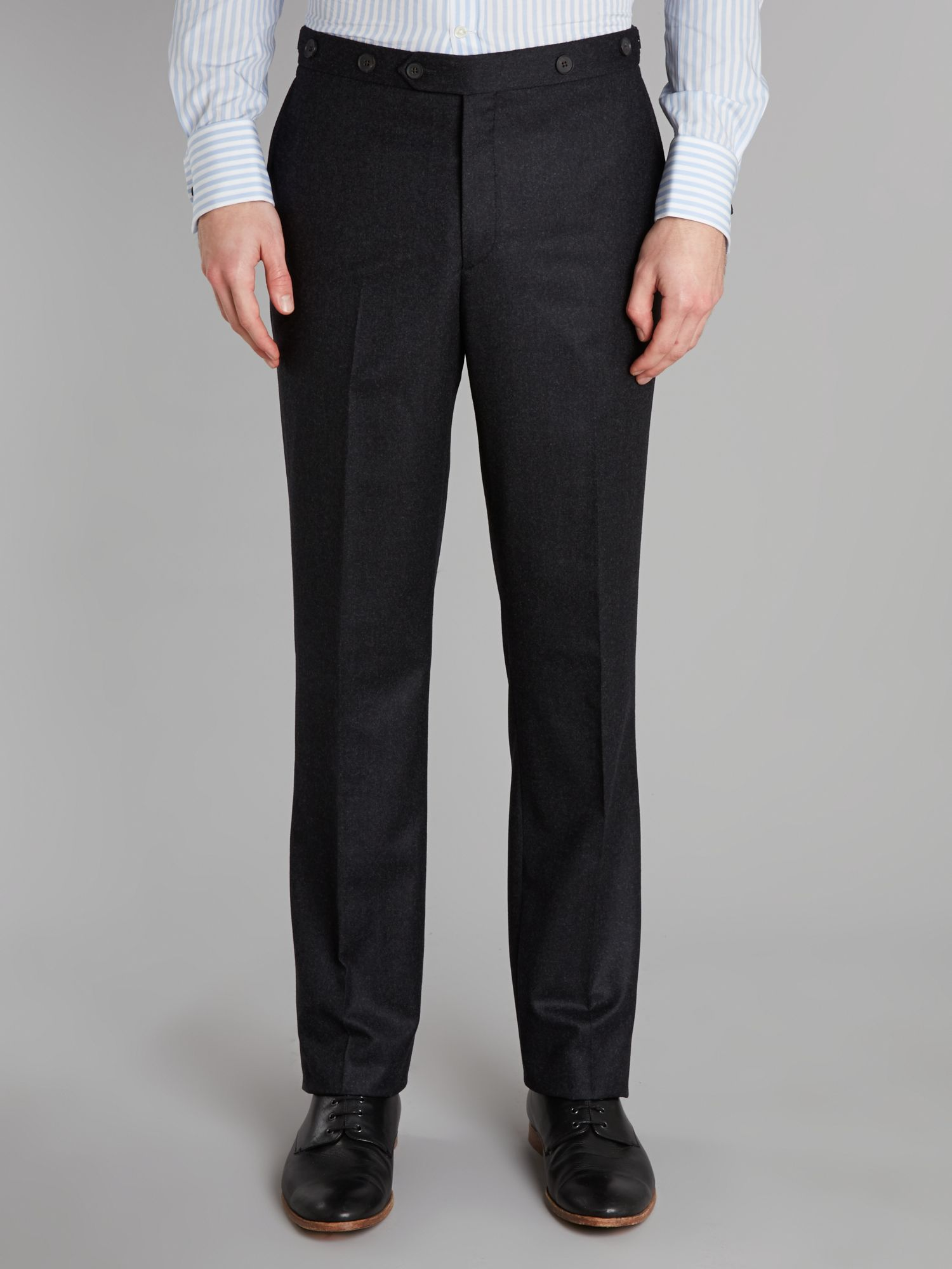 Halton flannel trousers