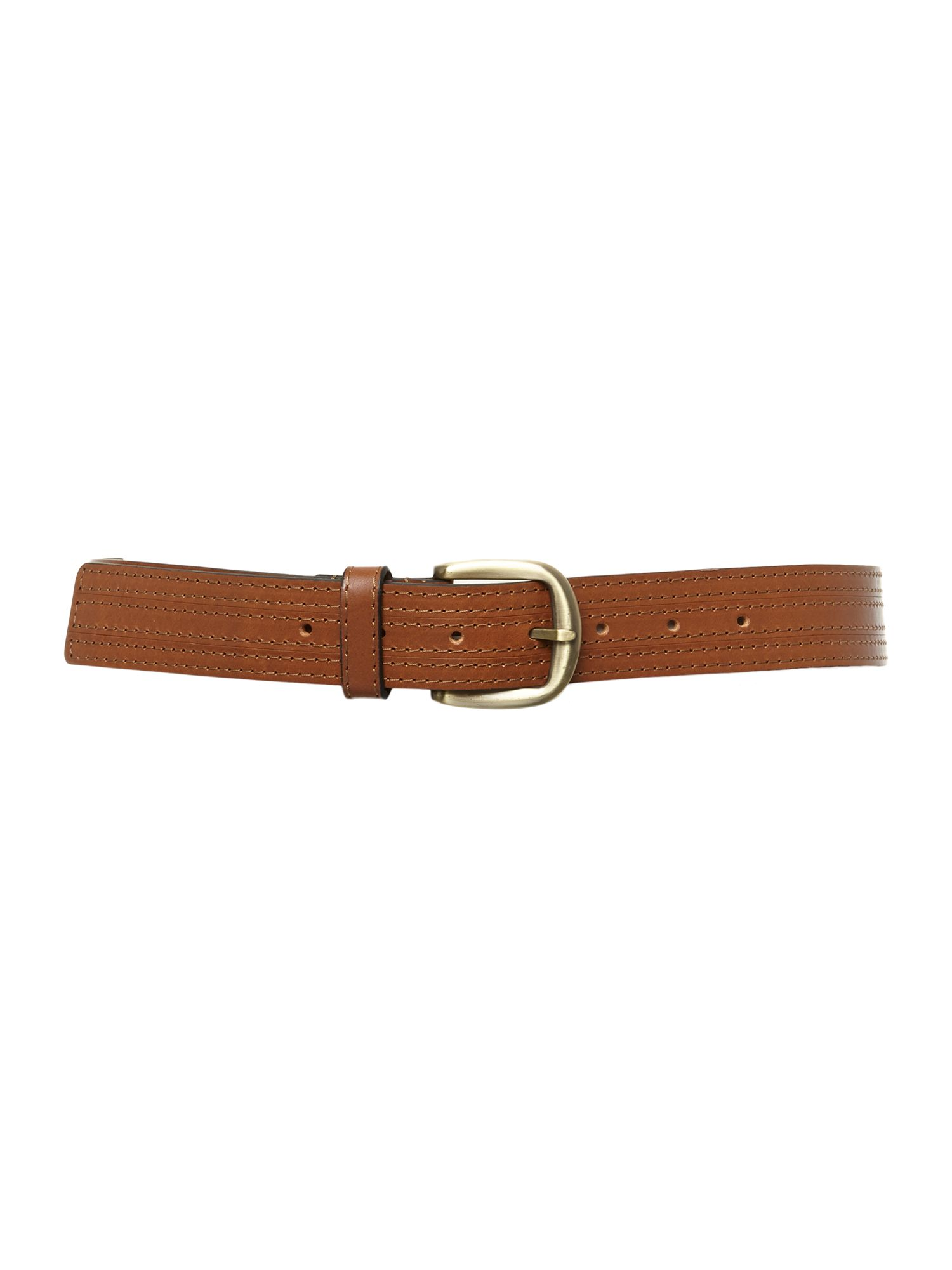 Mandy tan belt