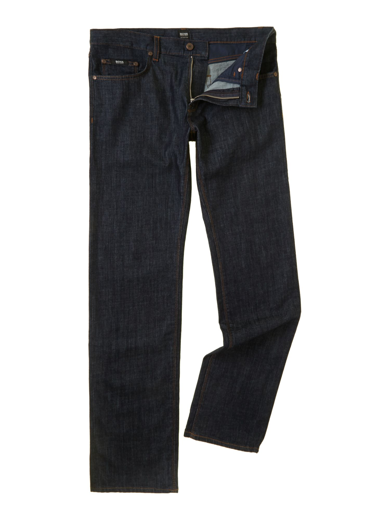 Maine regular straight rinse jean