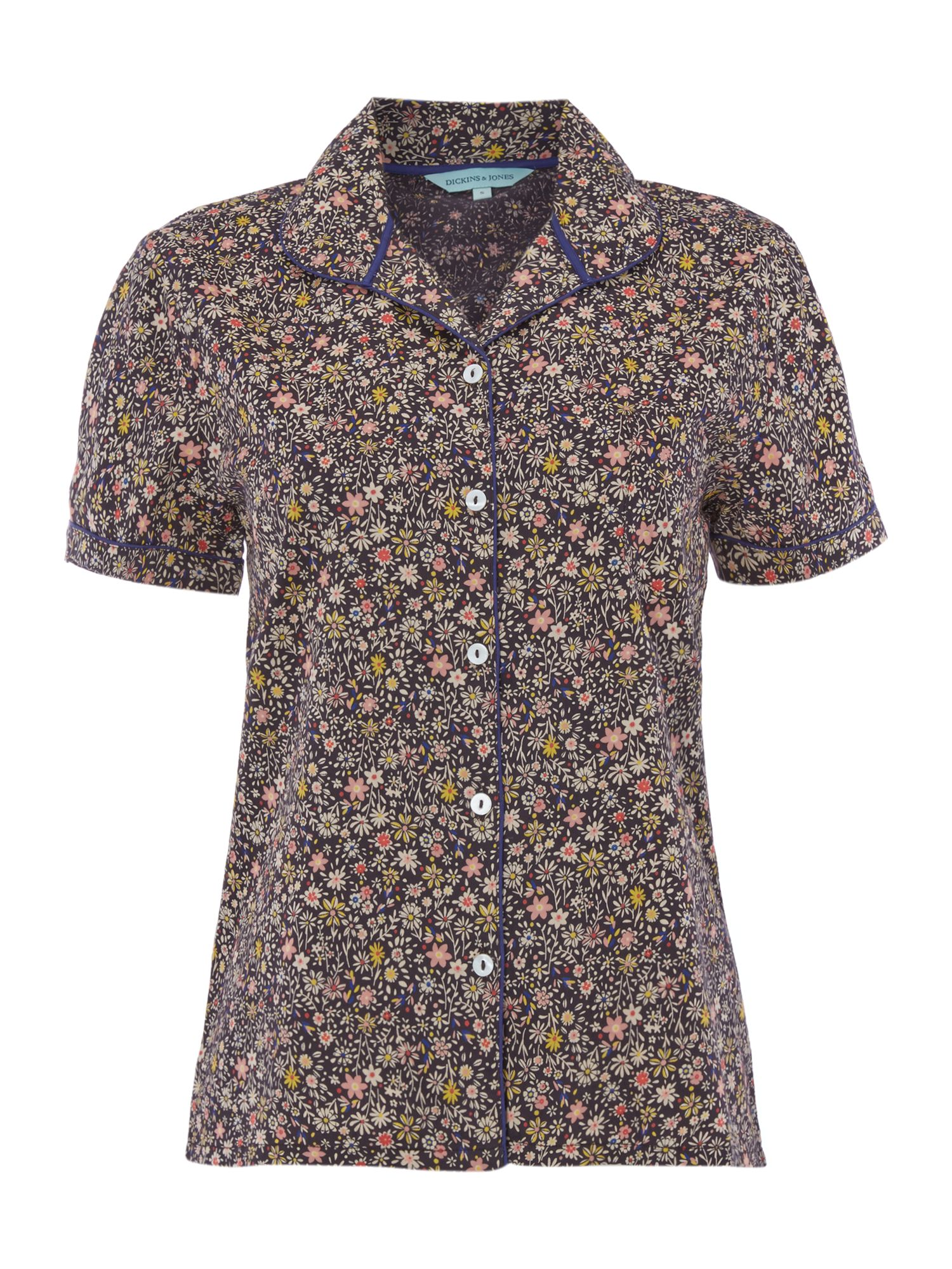 Ethal floral print short sleeve pj top