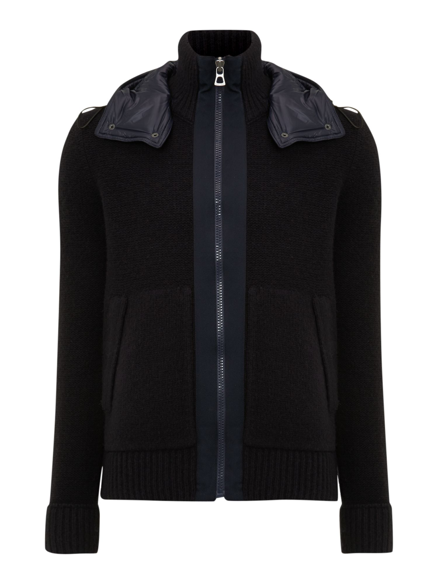 Knitted nylon jacket