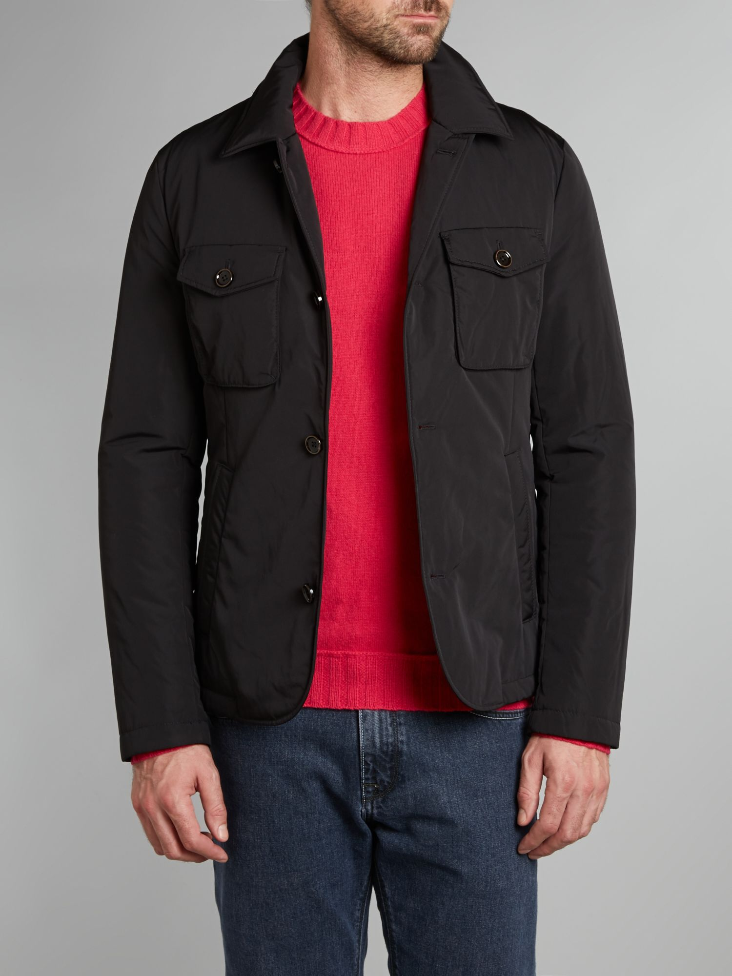Four pocket short jacket