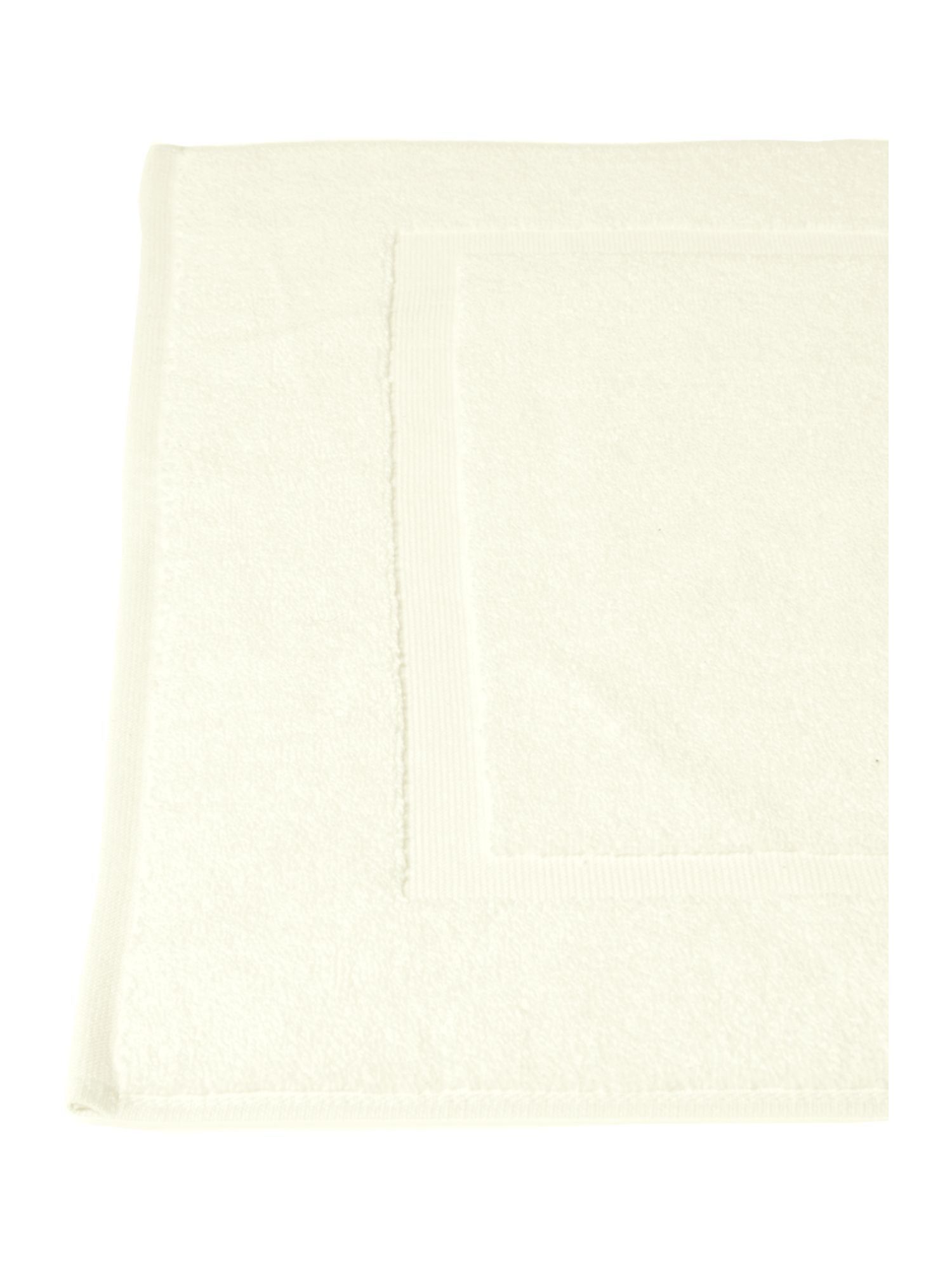 Zero Twist bath mat in cream