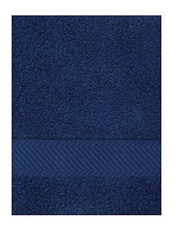 Face Cloth in Navy (Set of 4)
