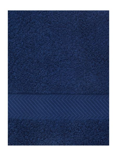 Luxury Hotel Collection Face Cloth in Navy (Set of 4)