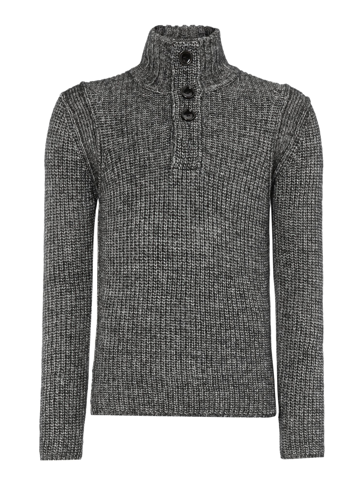 Half button jumper