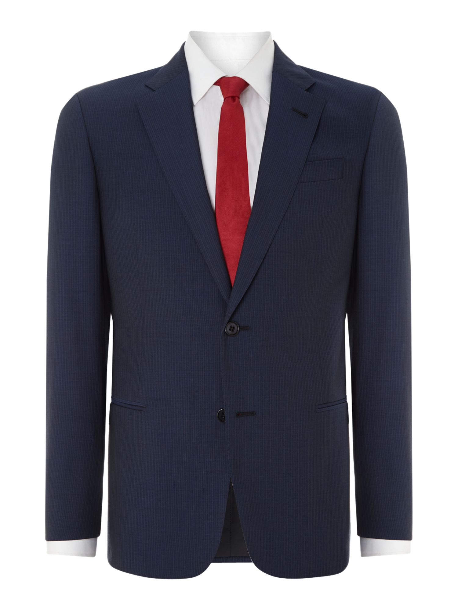 Giorgio self stripe regular fit suit