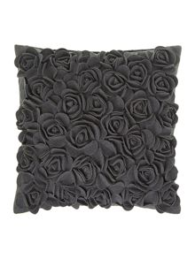 Linea Dark grey rose felt cushion