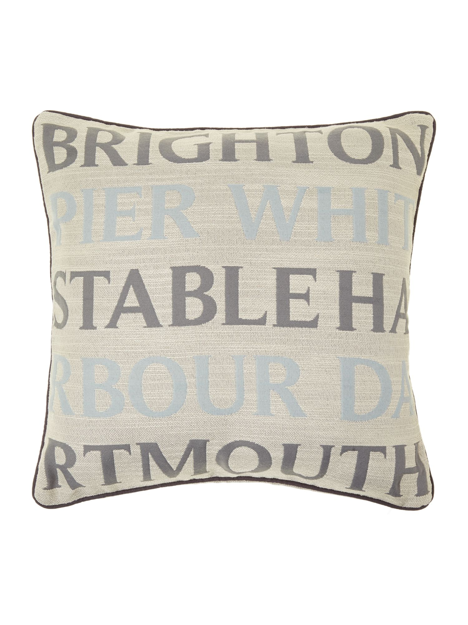Seaside towns cushion