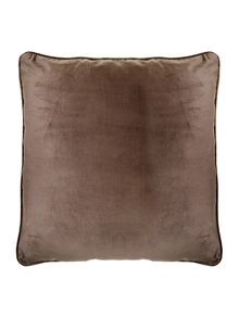 Casa Couture Bronze oversized velvet cushion