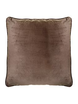 Bronze oversized velvet cushion