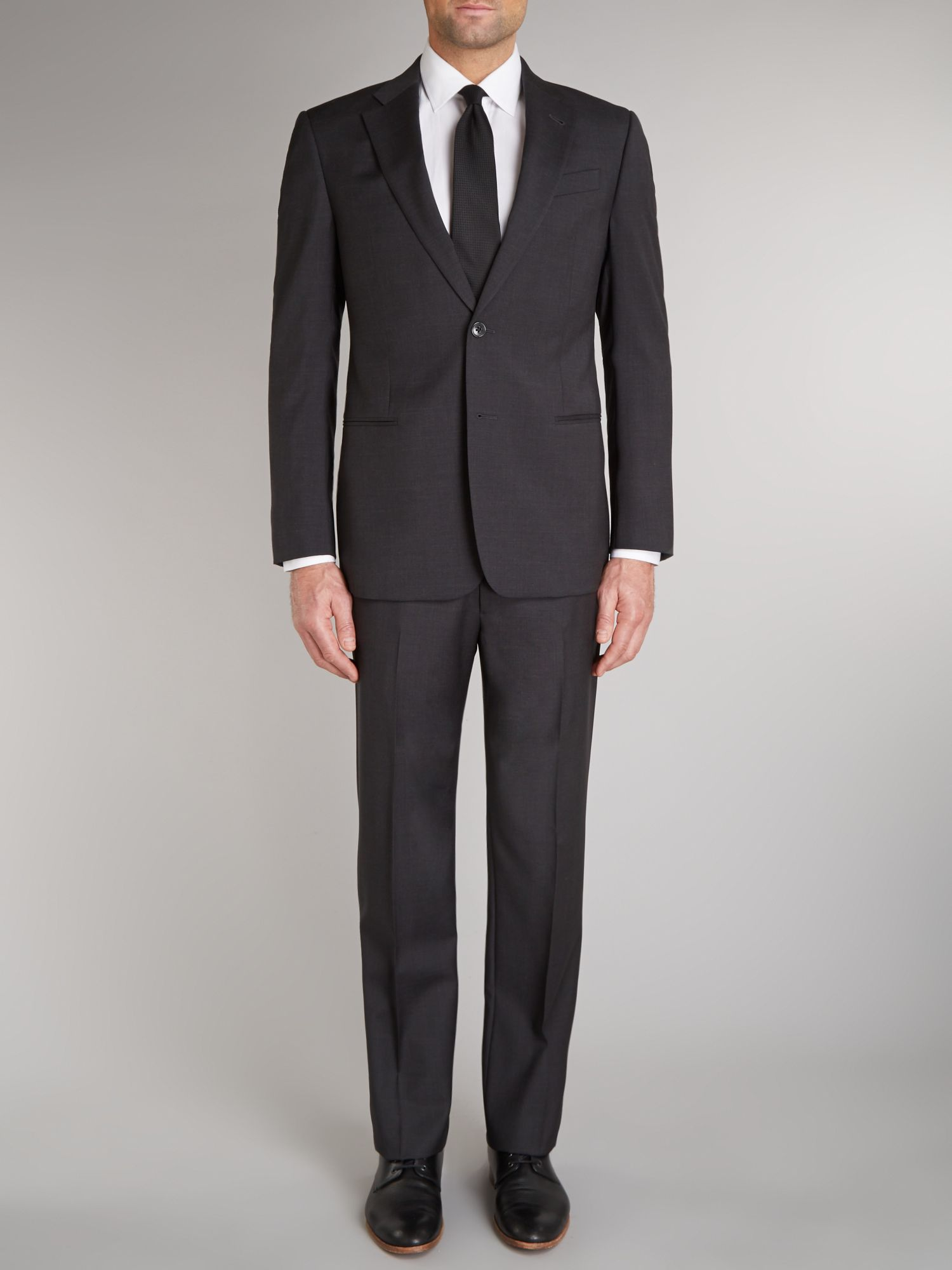 Giorgio solid regular fit suit