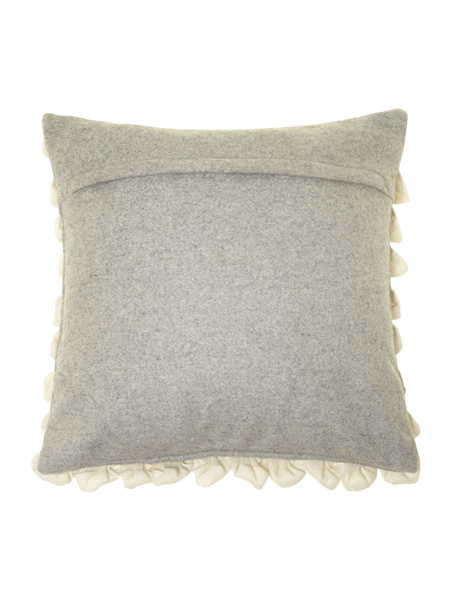 Glitter Ruffle Cushion