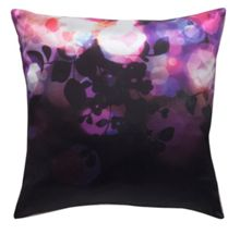 Purple digital print cushion