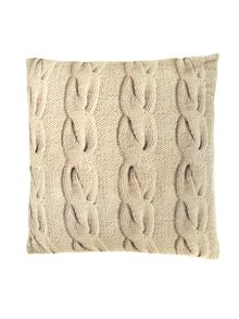 Velvet rope print cushion