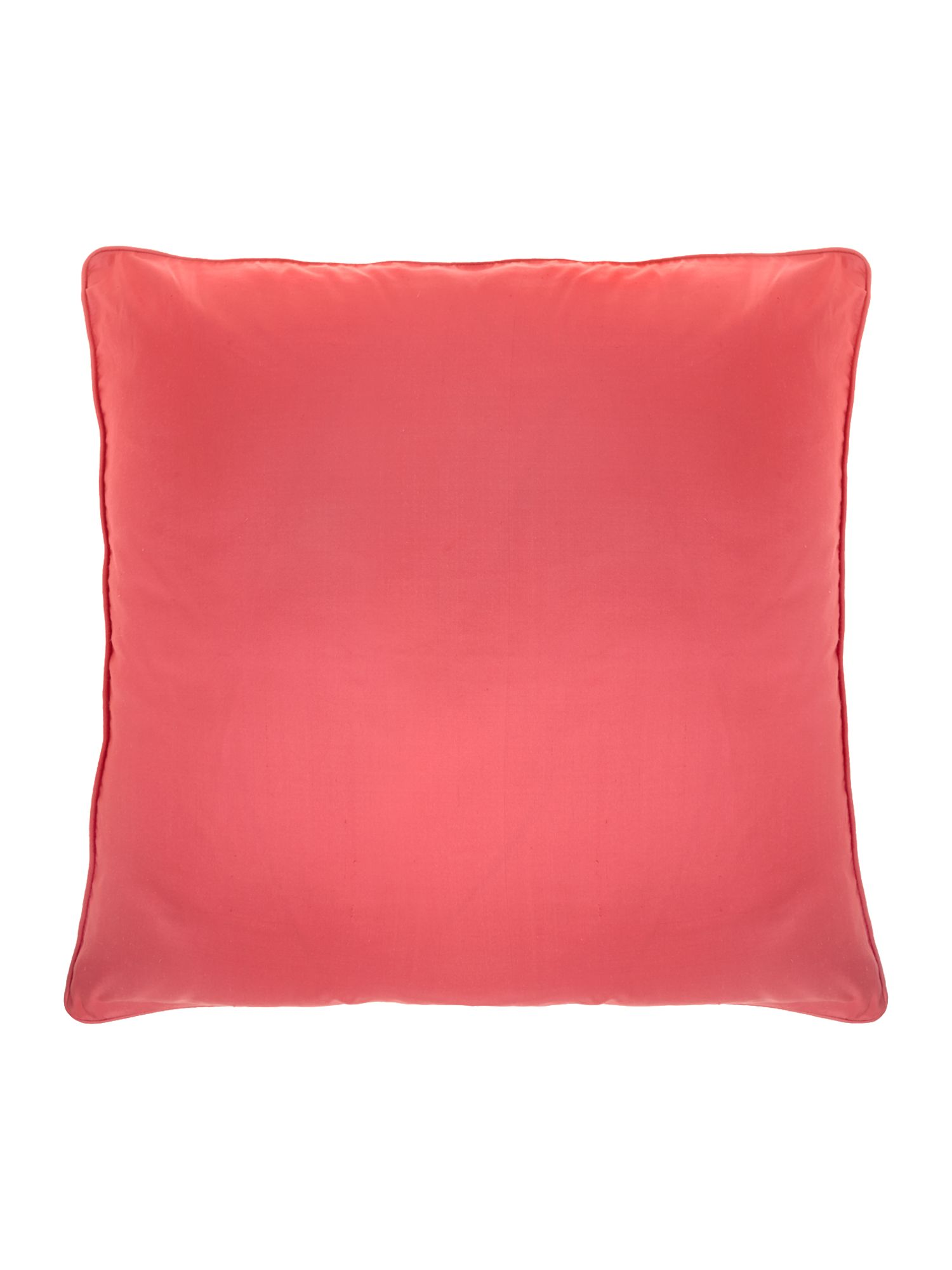Pink oversized silk cushion