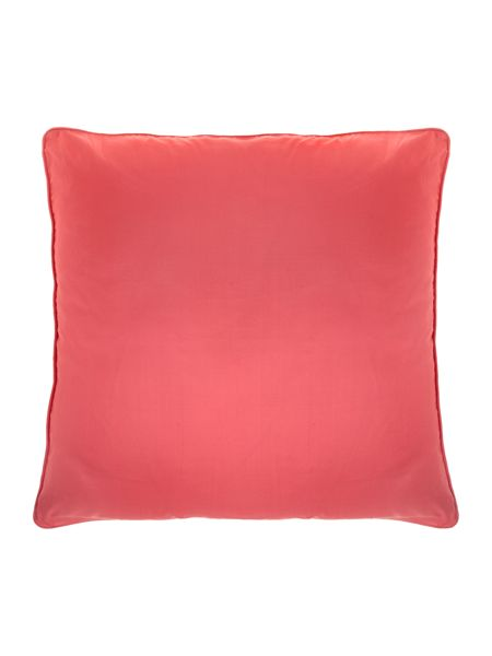 Pied a Terre Pink oversized silk cushion