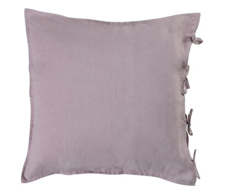 Shabby Chic Blush oversized linen cushion