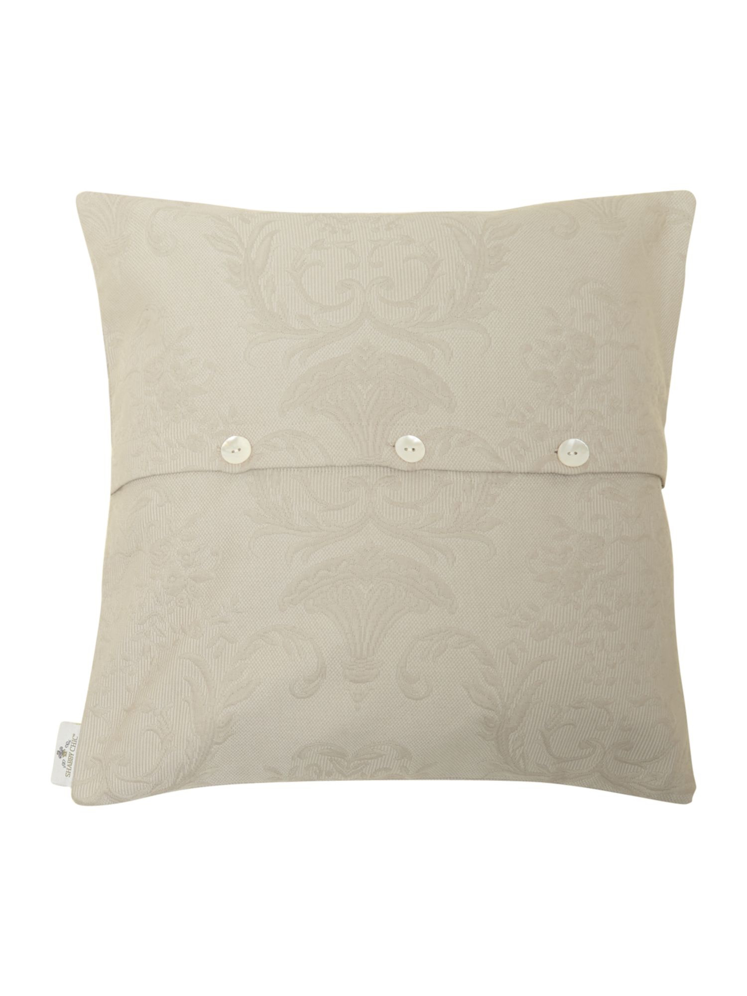 Grey Matelasse cushion