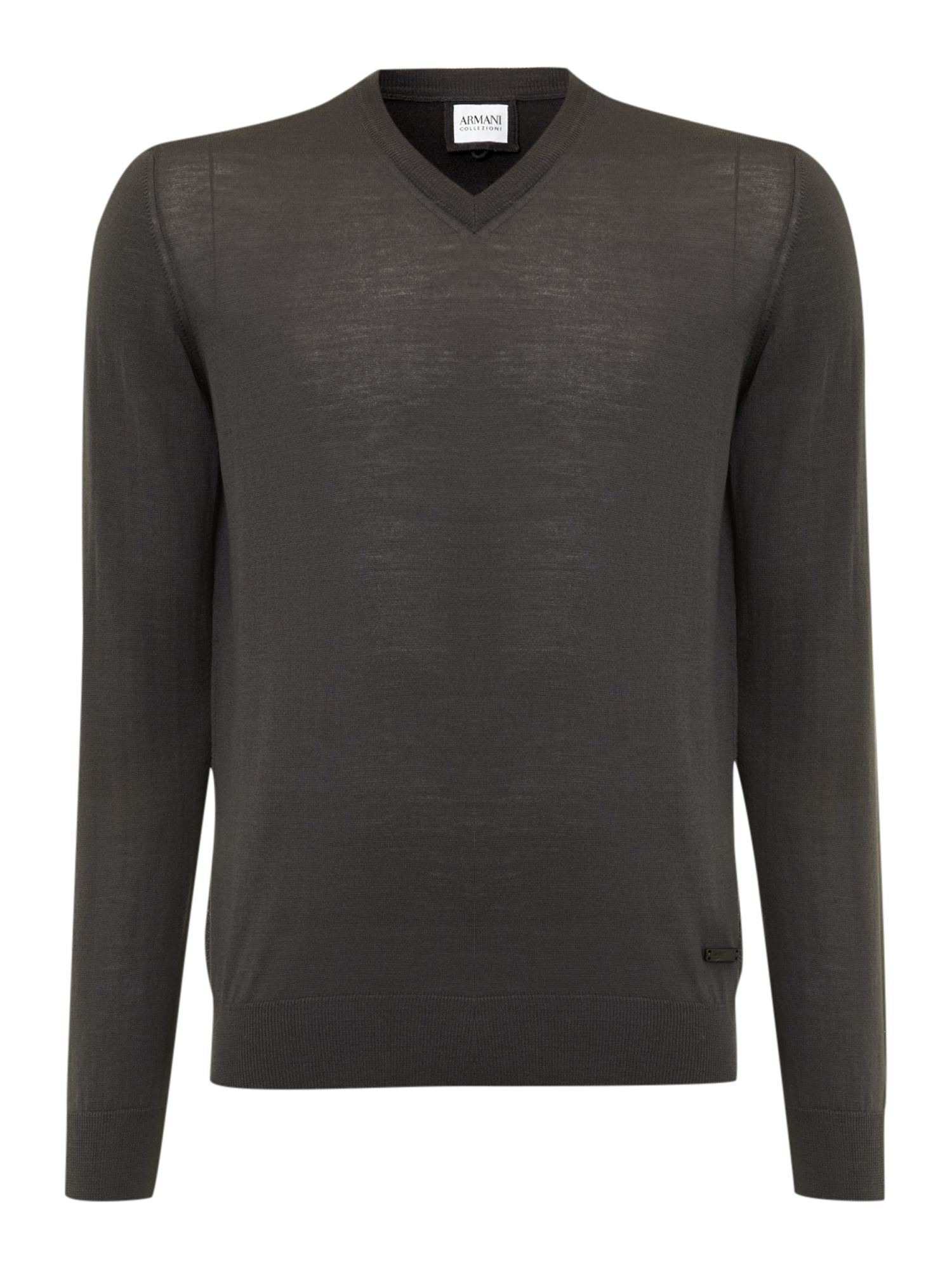 Merino v neck jumper