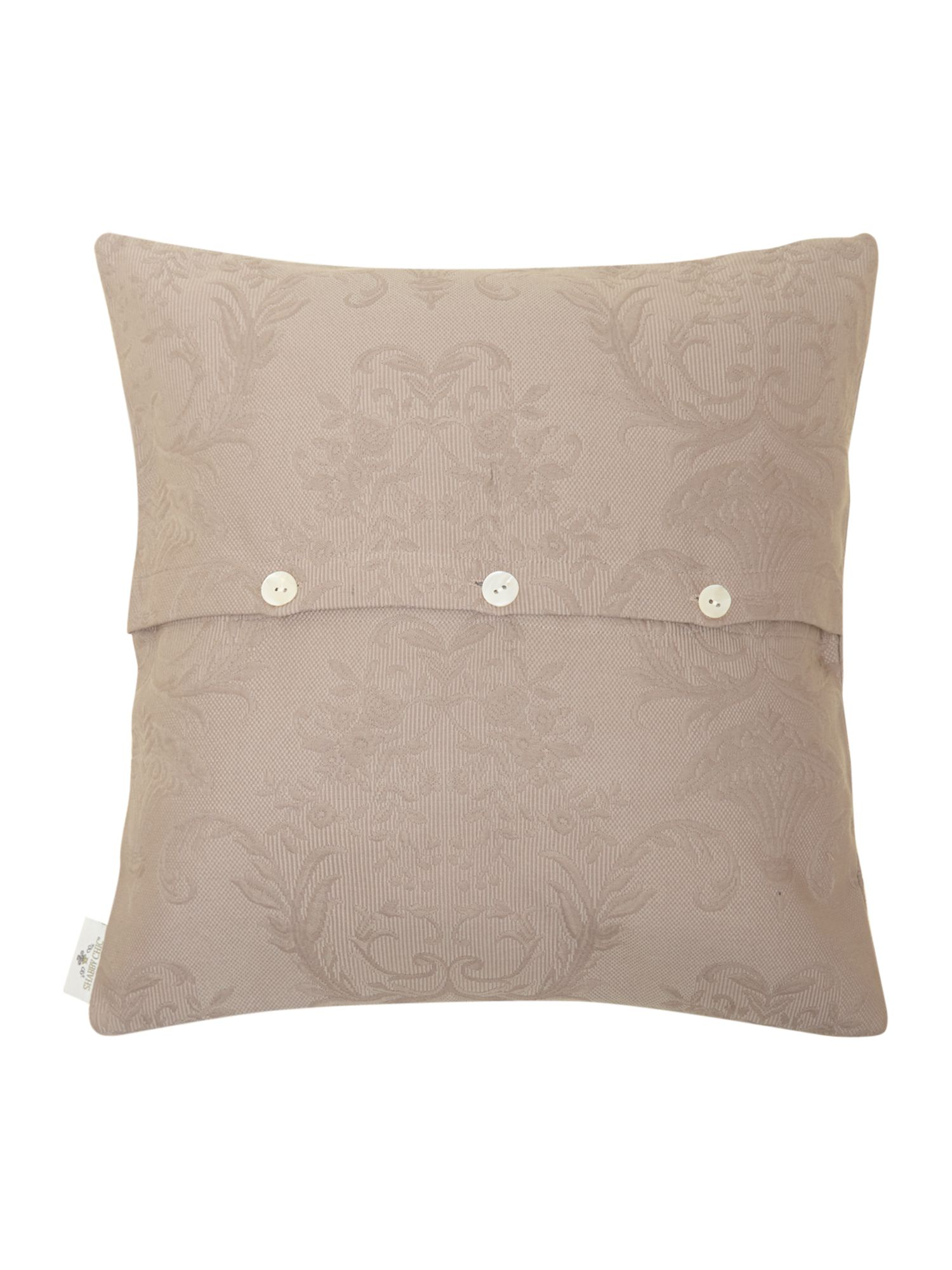 Lilac Matelasse cushion