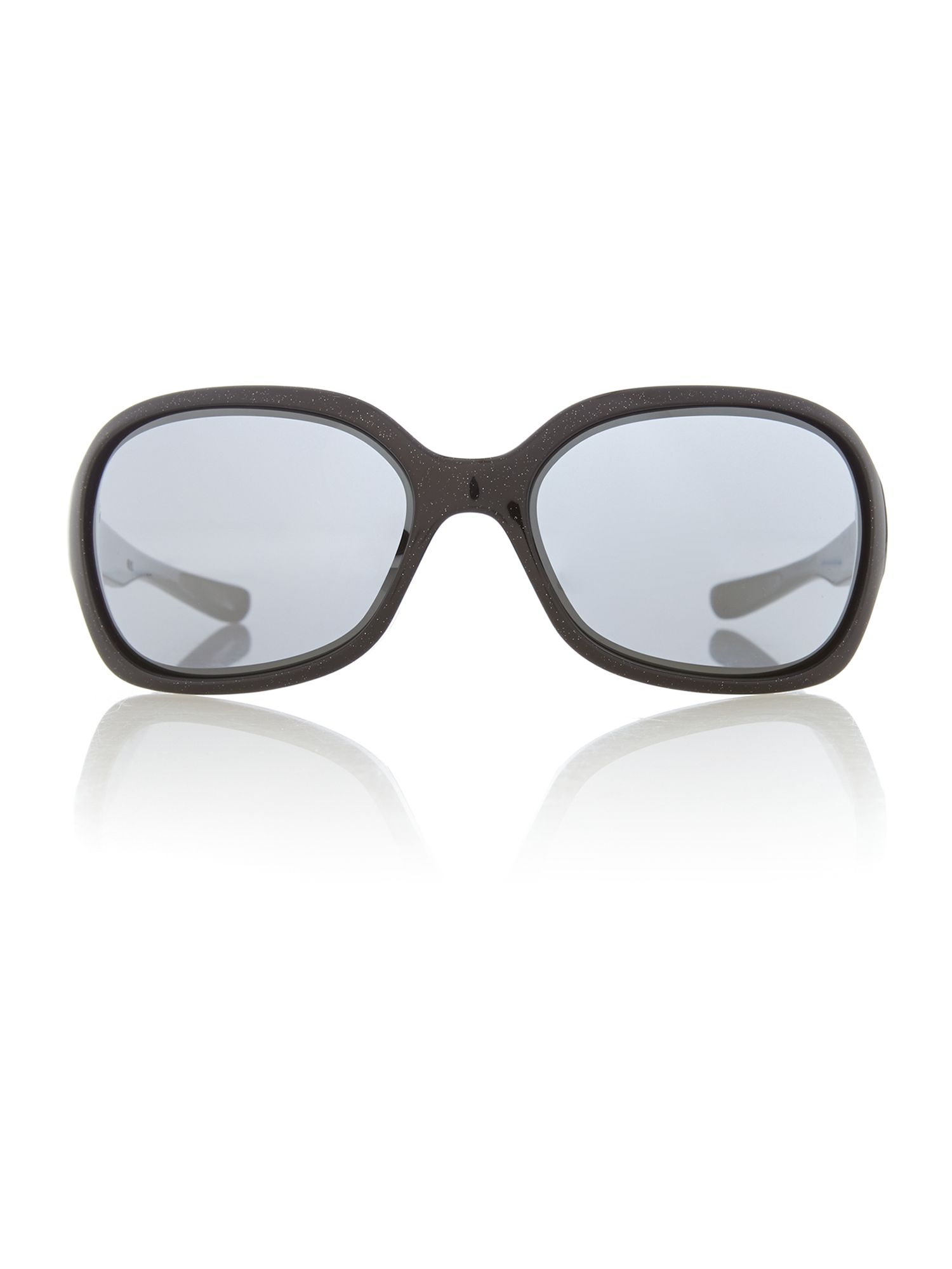 Ladies metallic black pulse sunglasses